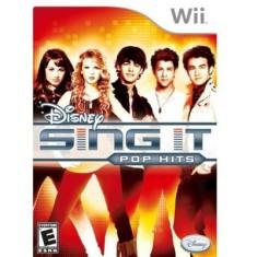 Jogo Disney Sing It: Pop Hits Wii Disney