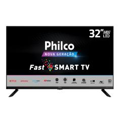 "Smart TV LED 32"" Philco PTV32G70SBL 2 HDMI USB"