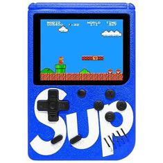 Imagem de Mini Video Game Box SUP Super Nes Nintendo 400 Jogos Clássicos Portátil USB