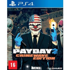 Jogo Payday 2 Crimewave Edition PS4 505 Games