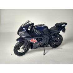 Imagem de Miniatura Moto Esportiva Yamaha YZF-R1 Escala 1:18!