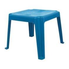 Imagem de Mesa de Plástico Infantil Azul