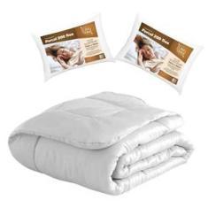 Imagem de Edredom Queen 8 Peças com 2 Travesseiros  Casa Dona