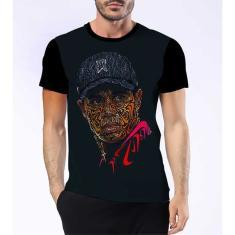 Imagem de Camisa Camiseta Tiger Woods Melhor Jogador Golfe Esporte 1