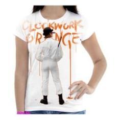 Imagem de Camiseta Camisa Feminina Orange Laranja Mecanica 28