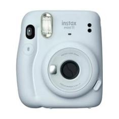 Câmera Fotográfica Instantânea Instax Fujifilm Mini 11 Branco Com Flash
