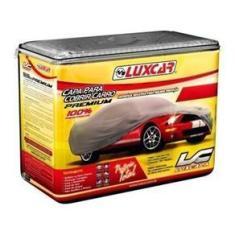 Capa Para Cobrir Carro Pretetora Térmica Chuva Sol Impermeável Premium Médio M - Luxcar 7257 Marrom