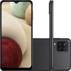 Imagem de Smartphone Samsung Galaxy A12 128GB Android Câmera Quádrupla