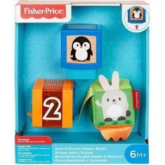 Imagem de Fisher Price Blocos Empilhando E Explorando - Mattel
