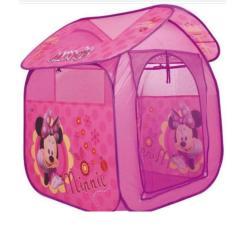 Imagem de Barraca Infantil De Brinquedo Casinha Portátil Minnie Tenda Cabana