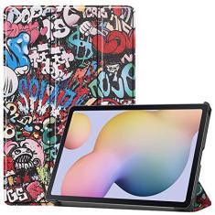 Imagem de Capa de tablet para Samsung Galaxy Tab S7 SM-T870 T875 Smart Case com função hibernar/despertar automática