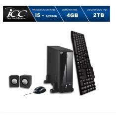 Imagem de Mini PC ICC SL2543C Intel Core i5 4 GB 2 TB Linux Slim