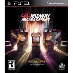 Jogo Midway Arcade Origins PlayStation 3 Warner Bros