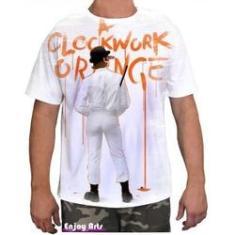 Imagem de Camiseta Camisa Masculina Orange Laranja Mecanica 24