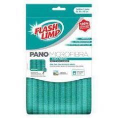 Pano Microfibra para Móveis FlashLimp