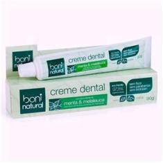 Imagem de Creme Dental Boni Natural Sem Flúor Menta & Melaleuca 90g