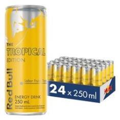 Imagem de Energético Red Bull Energy Drink, Tropical, 250 ml (24 latas)