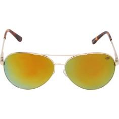1756ed251440f Óculos de Sol Unissex Mormaii Aviador Mirror