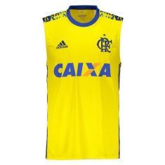 a3b37cbdd7 Camisa Regata Flamengo III 2017 18 Torcedor Masculino Adidas