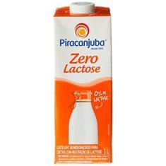 Imagem de Leite Semidesnatado Zero Lactose Piracanjuba 1L