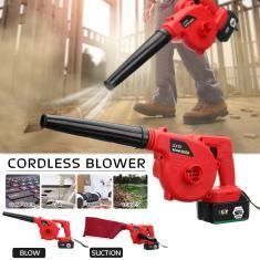 Imagem de Novo 12880 mAh multifuncional Handheld Garden Air Blower Blower / Vacuum Home Car Aspirador de pó Limpador de folhas de pó Wongkuba