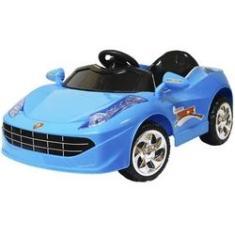 Imagem de Mini Carro Elétrico Infantil Criança Bateria 6V Importway Ferrari BW005 Bivolt