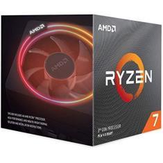 Processador AMD Ryzen 7 3700X (AM4-8 núcleos  16 threads - 3.6GHz)