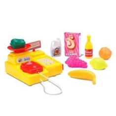 Imagem de Caixa Registradora Mini Feirinha Infantil Brinquedo