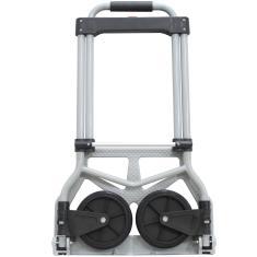 Imagem de Carrinho de Mão Dobrável Transporte Carga até 70 kg