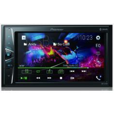 "Central Multimídia Automotiva Pioneer 6 "" DMH-G228BT Touchscreen Bluetooth"