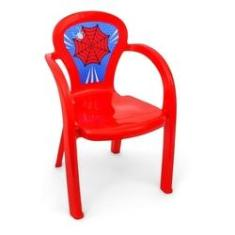 Imagem de Cadeira Infantil Decorada Aranha Menino - Usual Utilidades