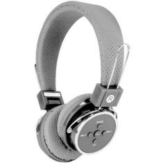 Headset Bluetooth com Microfone Rádio Knup KP-367
