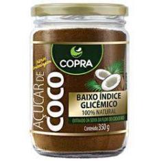 Imagem de Açúcar De Coco Copra 100% Natural Pote Vidro 350g