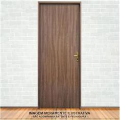 Imagem de Porta de Madeira Lisa com Revestimento Melamínico 2,10mx70cmx30mm