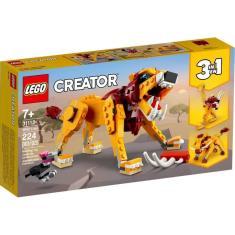 Imagem de LEGO Creator Leão Selvagem - 31112 - 224 peças