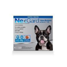 Nexgard 1,25 Mg De 4 A 10 Kg Cx Com 3