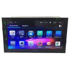"Central Multimídia Automotiva H-Tech 7 "" HT-8020TV Touchscreen Wi-Fi"