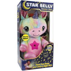 Imagem de Ontel Star Belly Dream Lites, Stuffed Animal Night Light, Shimmering Rainbow Unicorn