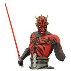 Imagem de Darth Maul Star Wars Clone Wars Cofre Para Moedas Diamond Select