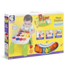 Imagem de Mesa Play Infantil Didatica Criança Play Time Cotiplas 1996