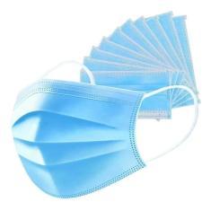 Imagem de Máscara Cirúrgica Tripla N95  Claro Earloop 3ply - Caixa com 50 unidades