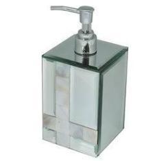 Imagem de Porta Sabonete Liquido Espelhado Com Madre Perola - Incasa