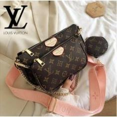 Imagem de Bolsa de Ombro Louis Vuitton com Alça de Corrente Feminina / Bolsa Transversal de Luxo prefferida