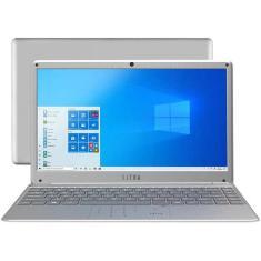 """Notebook Ultra Intel Core i3 5005U 5ª Geração 4GB de RAM SSD 120 GB 14,1"""" Full HD Windows 10 UB420"""