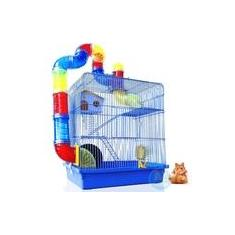 Imagem de Gaiola 3 Andares Completa para Hamster -
