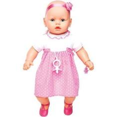 Imagem de Boneca Bebê Meu Bebê Premium Estrela