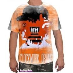 Imagem de Camiseta Camisa Masculina Orange Laranja Mecanica 9