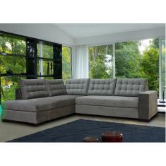 Imagem de Sofá de Canto Chaise FIE002 Lado Esquerdo Sofa Direto da Fabrica