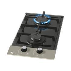 Cooktop Fischer Platinum 2Q 2 Bocas Acendimento Superautomático
