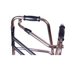 Imagem de Andador Dobravel Aluminio Fixo Bronze Mercur